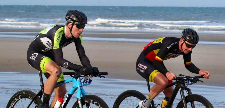 """Dupont beticht Slik van afsnijden tijdens EK Strandrace: """"Ik koos de snelste route"""""""