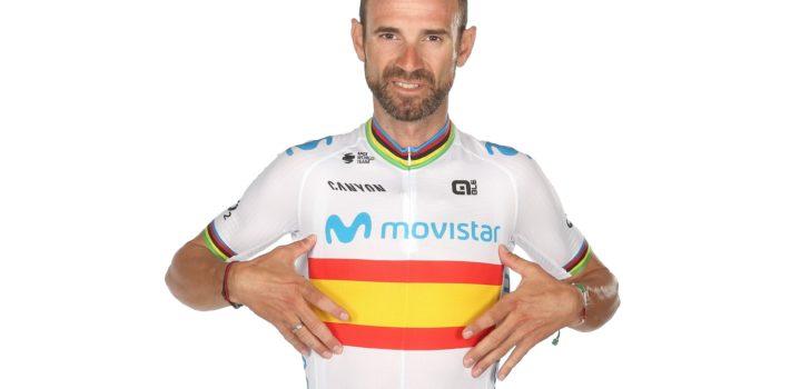 Wielertenues 2020: Movistar blijft lichtblauw, andere kampioenstrui Valverde