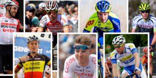 Deze zeven landgenoten hangen hun fiets aan de wilgen