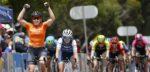 Chloe Hosking opent Women's Tour Down Under met sprintzege