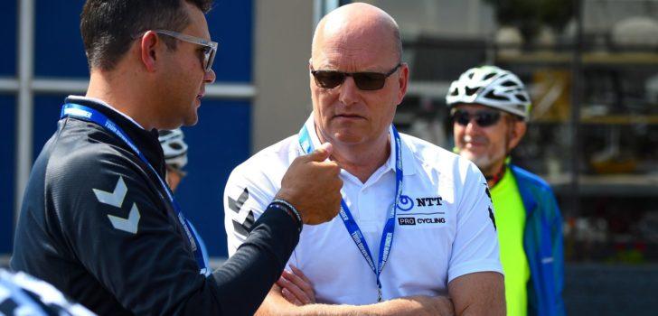 """Bjarne Riis onzeker over toekomst NTT: """"Het is moeilijk, dat moet ik toegeven"""""""