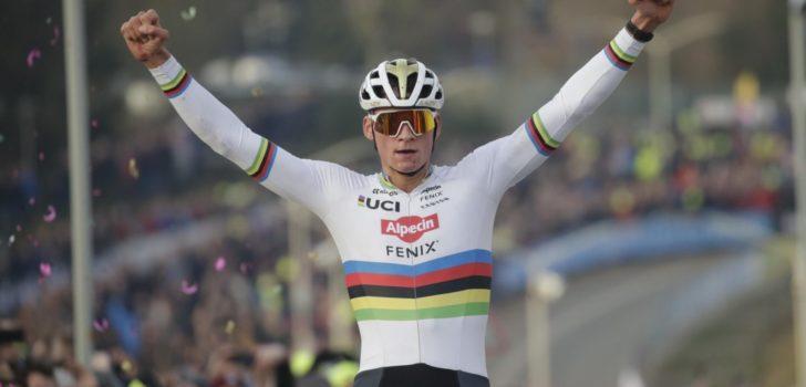 Toon Aerts is weer eindwinnaar Wereldbeker, Mathieu van der Poel wint in Hoogerheide