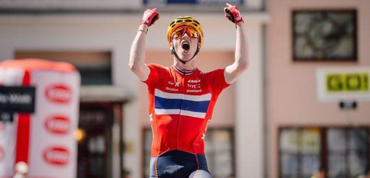 Live wielrennen op Noorse tv: Leknessund verslaat Foss in korte tijdrit