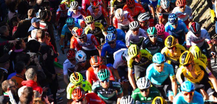 UCI: afgelasting Italiaanse koersen vanwege corona nog niet te voorspellen