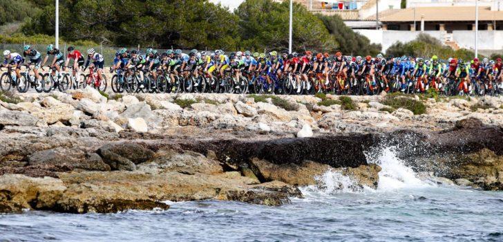 Intermarché-Wanty-Gobert en nog zes WorldTour-teams in Challenge Mallorca