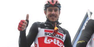 """John Degenkolb niet in Omloop, wel in Kuurne-Brussel-Kuurne: """"Keuze van de ploeg"""""""
