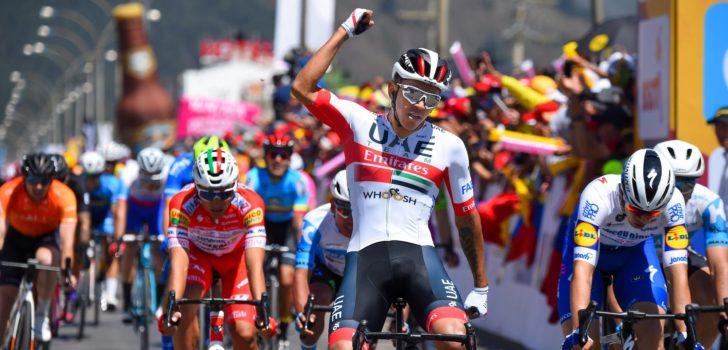 Juan Sebastián Molano spurt naar winst in Tour Colombia