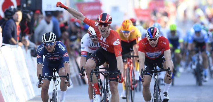 Cees Bol spurt naar etappewinst in Volta ao Algarve
