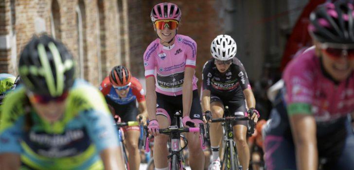 """Giro Rosa wacht af: """"We hopen dat de situatie snel wordt opgelost"""""""