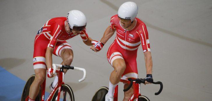 Weergaloze Denen pakken wereldtitel Madison, België vijfde