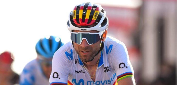 Alejandro Valverde (40) stelt pensioen mogelijk uit naar eind 2022