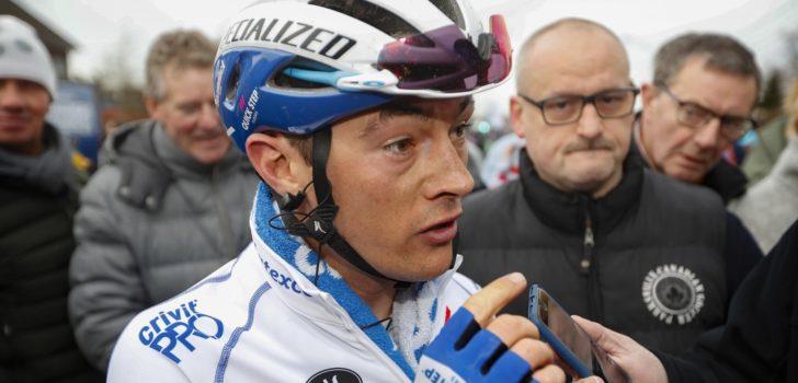 Yves Lampaert terug in koers na sleutelbeenbreuk