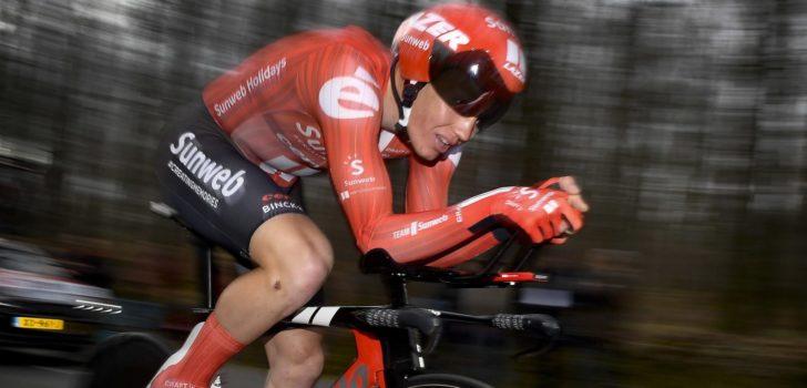 Søren Kragh Andersen snelt naar tijdritwinst in Parijs-Nice