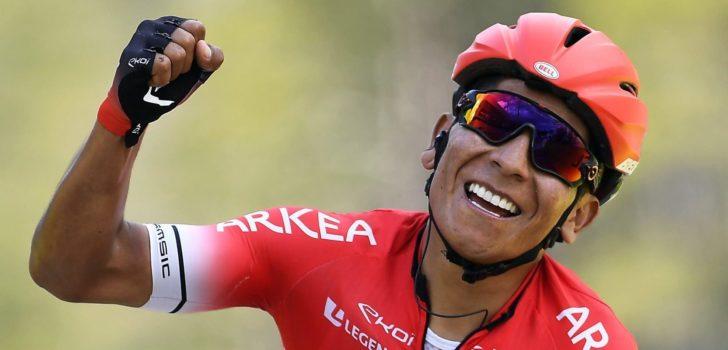 Quintana en Barguil via Dauphiné naar Tour