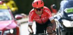 Nairo Quintana fietst weer na zijn trainingsongeval