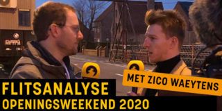 FlitsAnalyse openingsweekend 2020 met Zico Waeytens