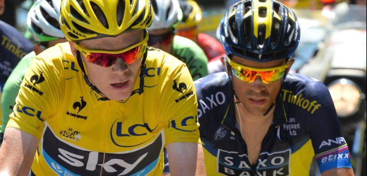 Alberto Contador gelooft in vijfde Tourzege Chris Froome