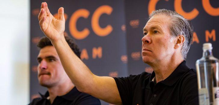 'CCC betaalt renners half jaarloon in 2020, maar haakt af voor 2021'