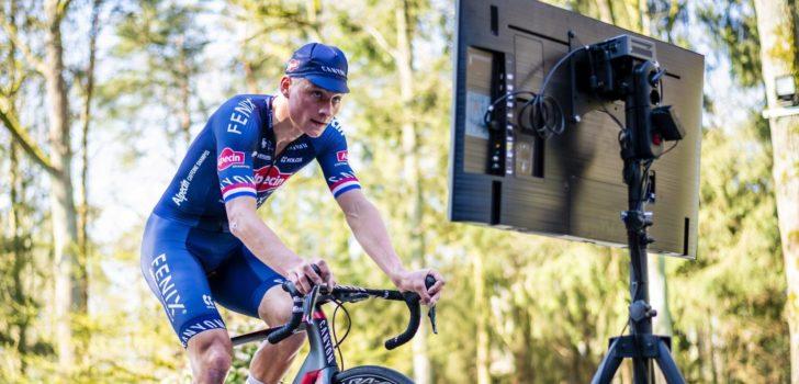 Mathieu van der Poel start in eRace Tour for All