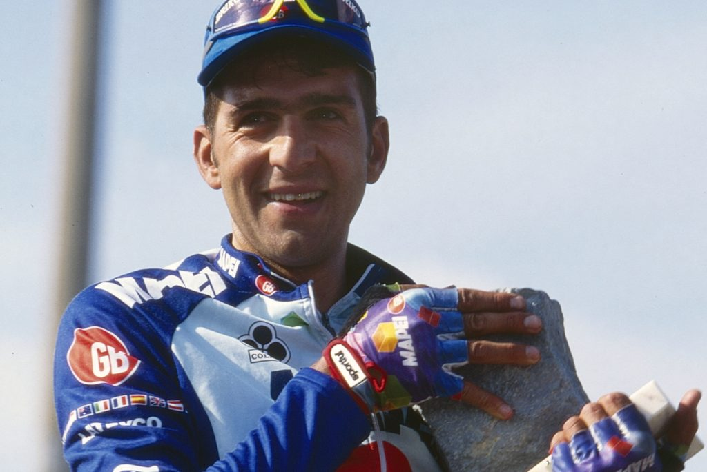 Franco Ballerini wint Parijs Roubaix 1995