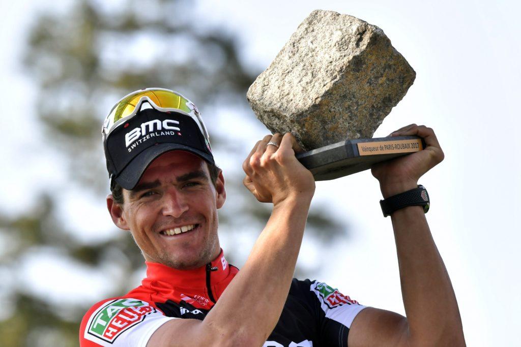Greg Van Avermaet wint Parijs-Roubaix 2017