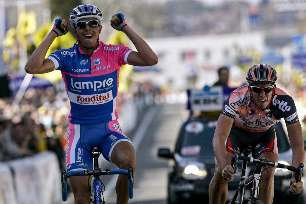 Alessanro Ballan wint de Ronde van Vlaanderen 2007