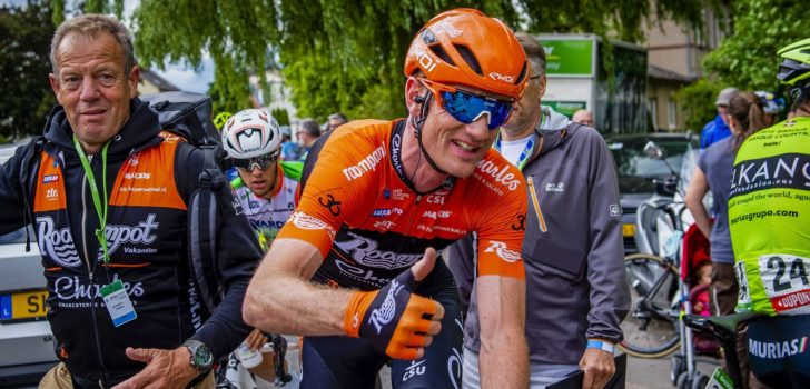 Pieter Weening op weg naar Trek-Segafredo