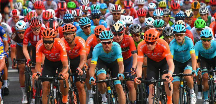 Teams kunnen hun renners nog steeds geen definitief programma aanbieden