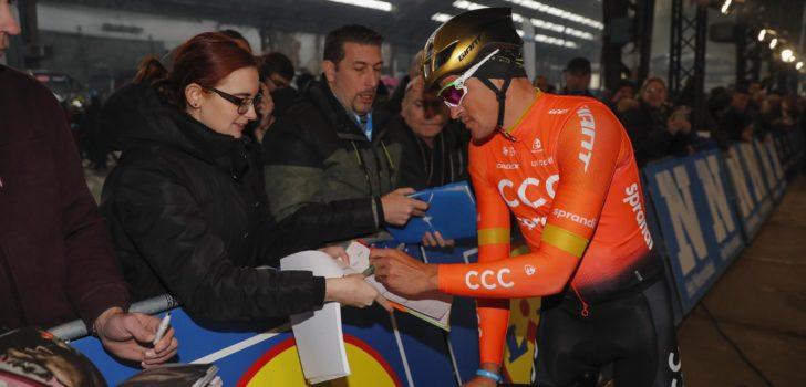 """Greg Van Avermaet denkt nog niet aan andere ploeg: """"Mijn focus ligt bij CCC"""""""