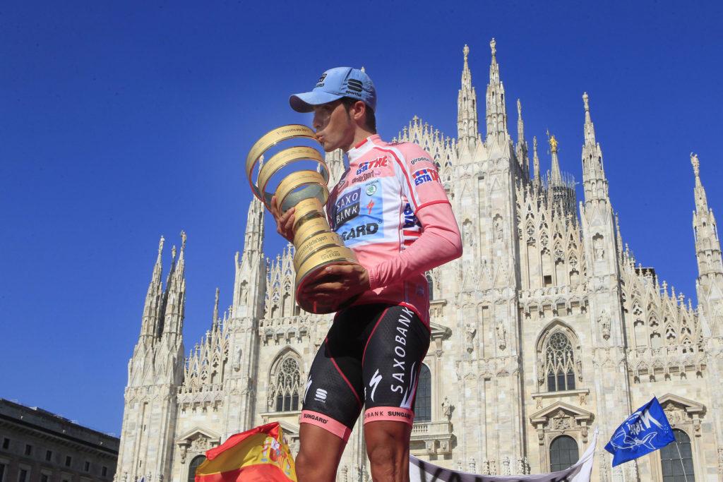 Alberto Contador Giro d'Italia 2011