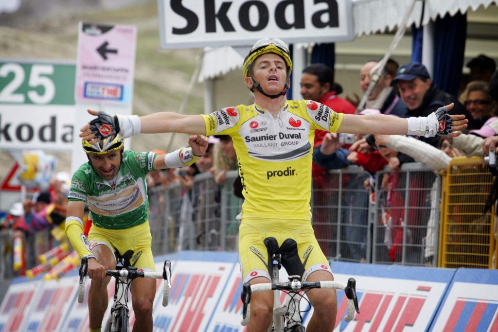 Giro 2007 Riccardo Ricco Tre Cime di Lavaredo