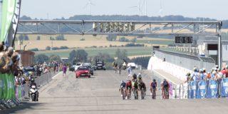 In Duitsland is de eerste wielerkoers in coronatijd gereden