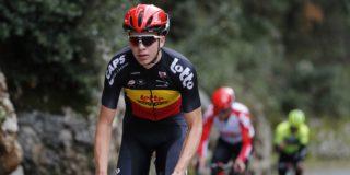 Florian Vermeersch debuteert in Strade Bianche voor Lotto Soudal
