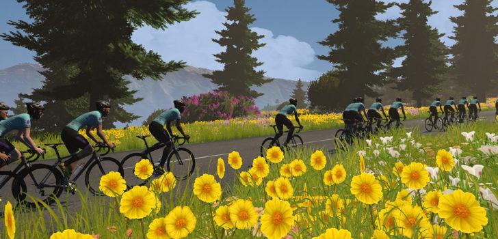 Canyon-SRAM eerste leider in Virtual Tour de France, dagzege voor Tacey
