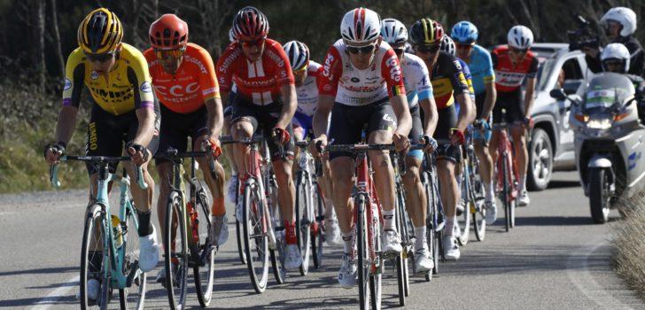 25 Belgen (23 mannen en 2 vrouwen) van start in Strade Bianche