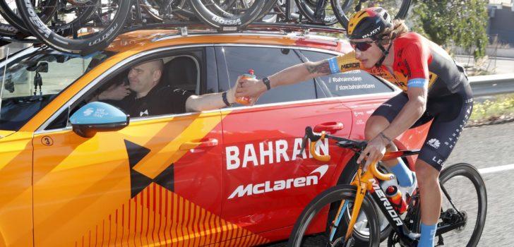 McLaren beëindigt sponsoring Bahrain McLaren in 2021