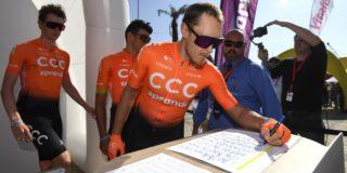 'Ook Matteo Trentin vertrekt bij CCC'
