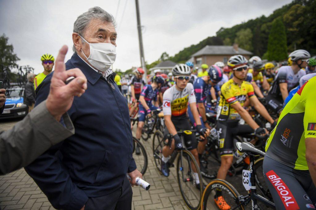 Eddy Merckx bij de GP Vermarc Sport Rotselaar 2020