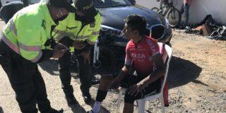 Nairo Quintana naar ziekenhuis na aanrijding tijdens training