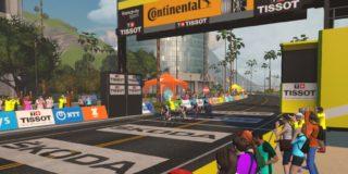 Lauren Stephens wint tweede rit Virtual Tour de France, TIBCO-SVB leidt