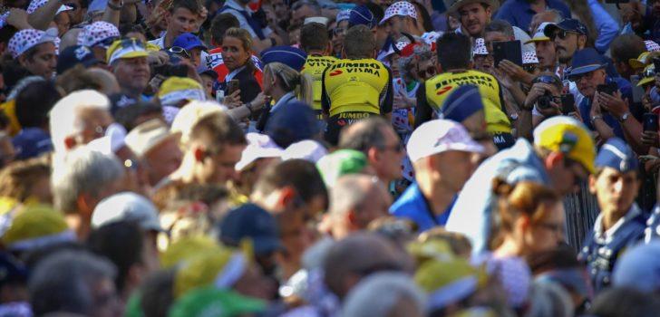 Ronde van Burgos: beperkte toegang voor fans in start- en finishzone