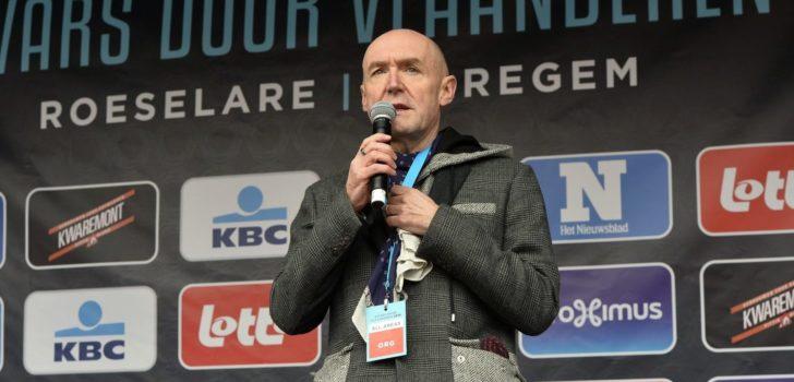 VRT houdt Michel Wuyts en José De Cauwer in België tijdens Tour de France