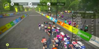 William Clarke wint slotrit Virtual Tour, eindzege voor NTT