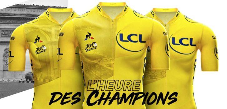 Tour de France maakt designs van gele trui bekend