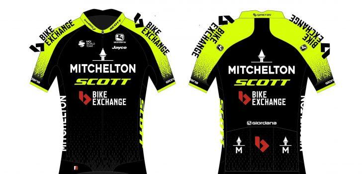 Mitchelton-Scott in ander Tourtenue, UCI komt met WK eSports