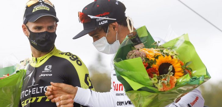 Reacties Luka Mezgec en Florian Sénéchal na Bretagne Classic