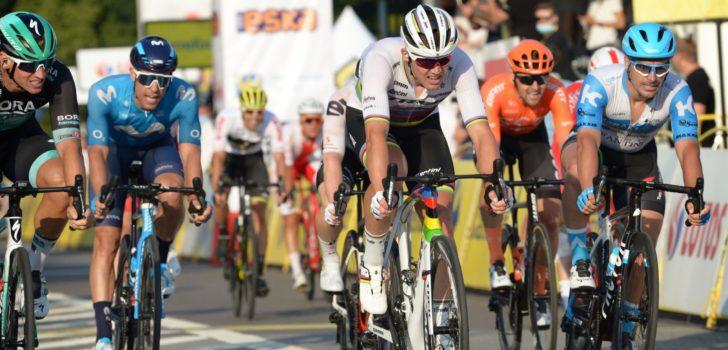 Mads Pedersen boekt in Ronde van Polen eerste zege als wereldkampioen