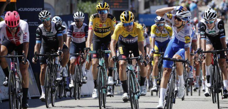 Andrea Bagioli wint in Tour de l'Ain, Roglic en Dumoulin zijn bij de les