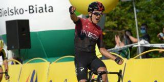 Herstelde Carapaz met Team Ineos naar Lombardije