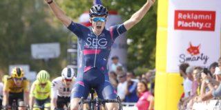 Jordi Meeus klopt Tim Merlier in Czech Cycling Tour